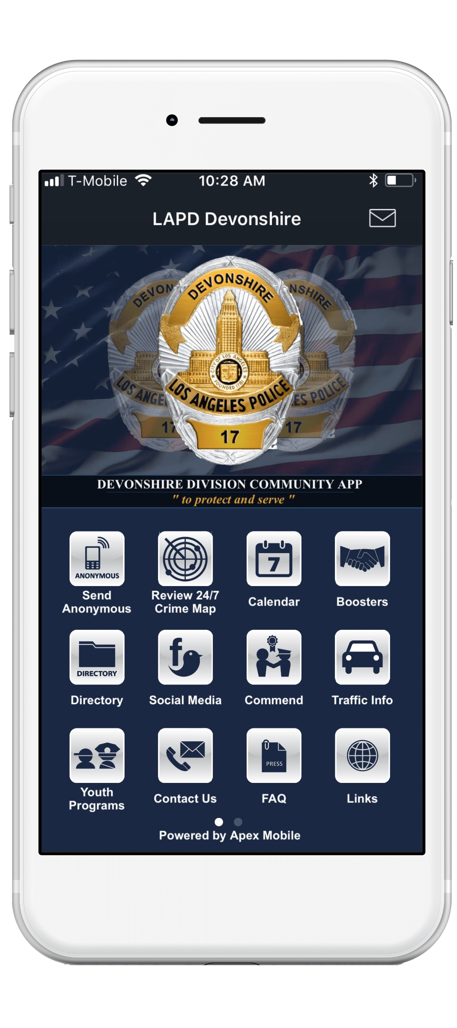 LAPD-Devonshire-mobile-app-screenshot-min