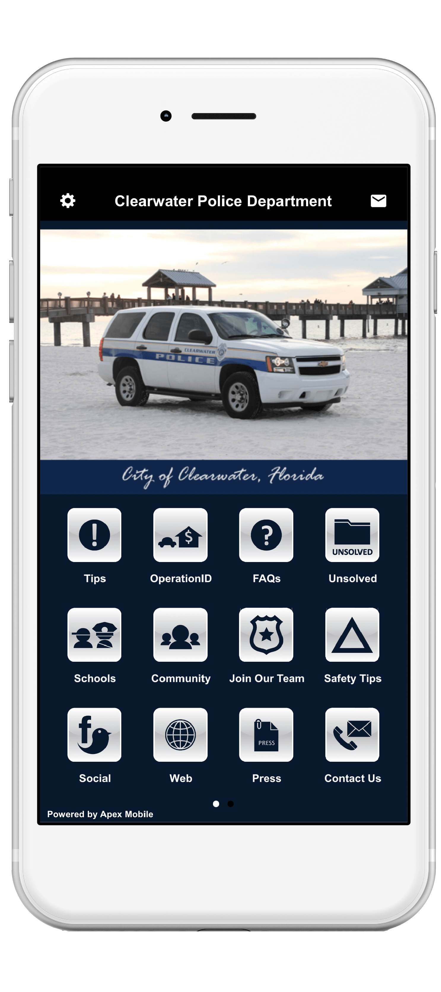 Clearwater Police Department - Apex Mobile Apps