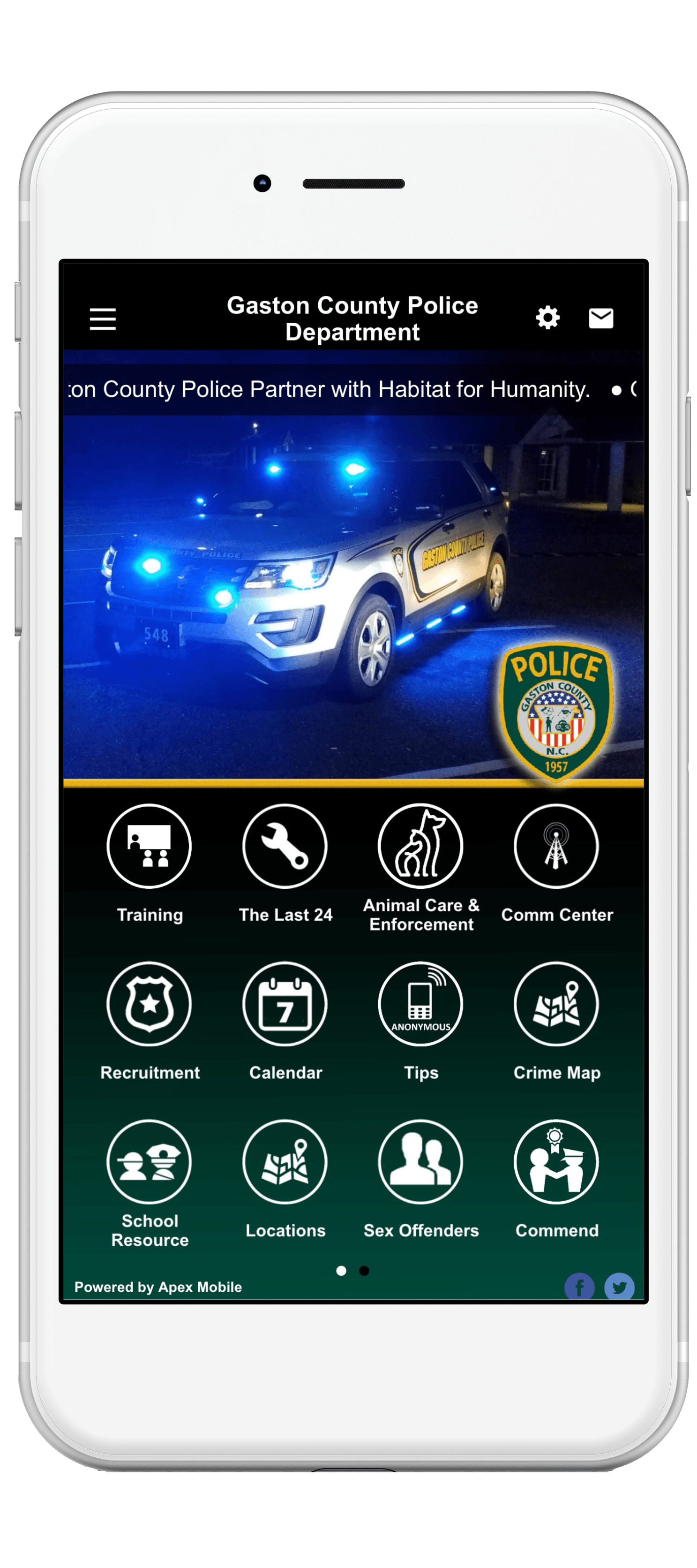 Gaston County Police Department - Apex Mobile Apps