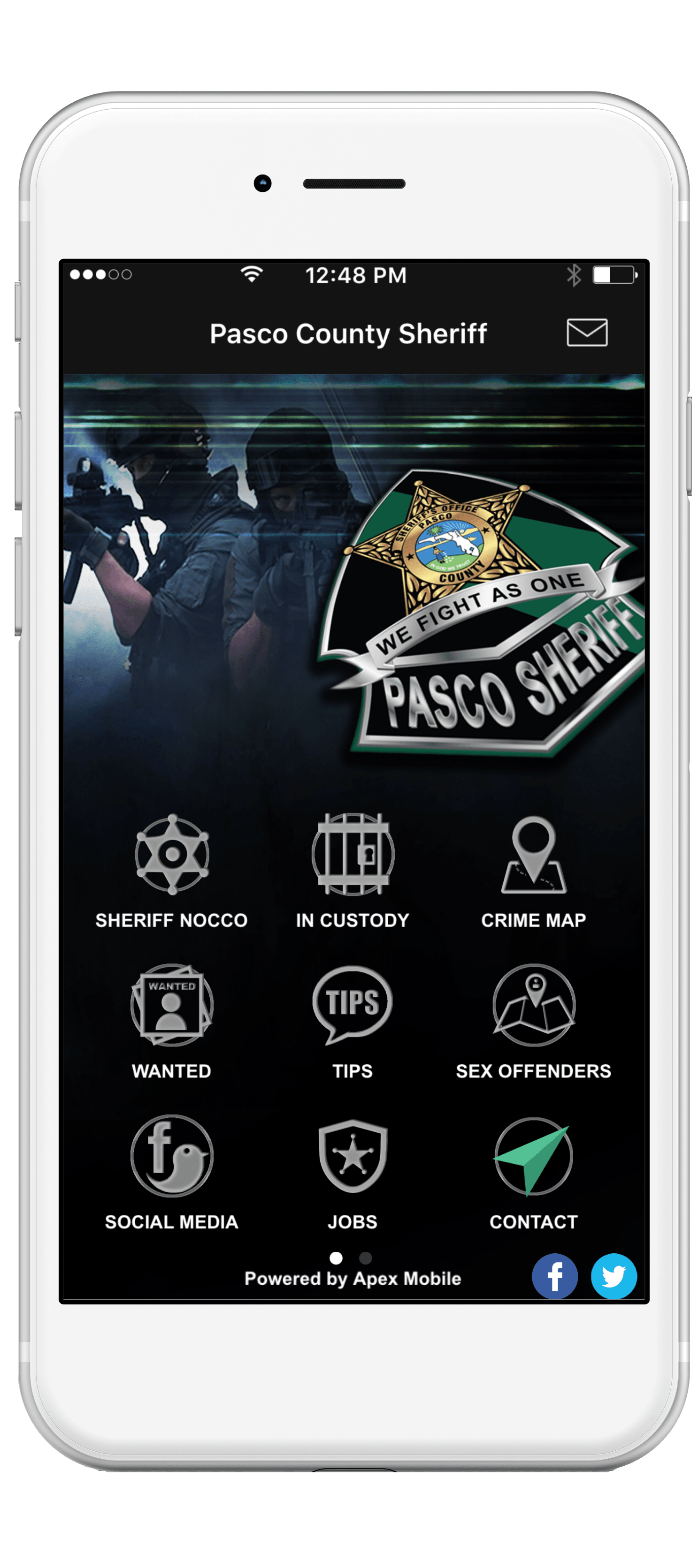 Pasco County Sheriff's Office - Apex Mobile Apps